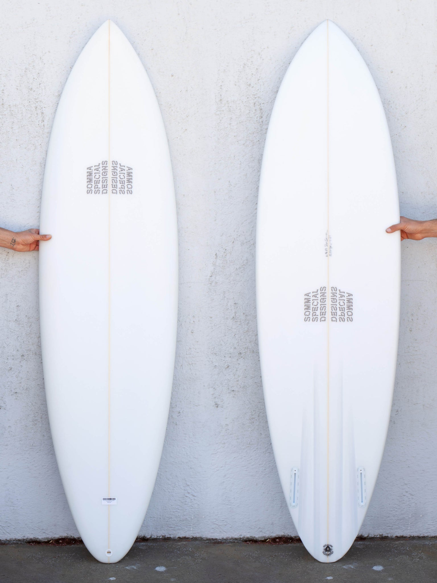 6'8 Somma Special Designs Round Pin Twin
