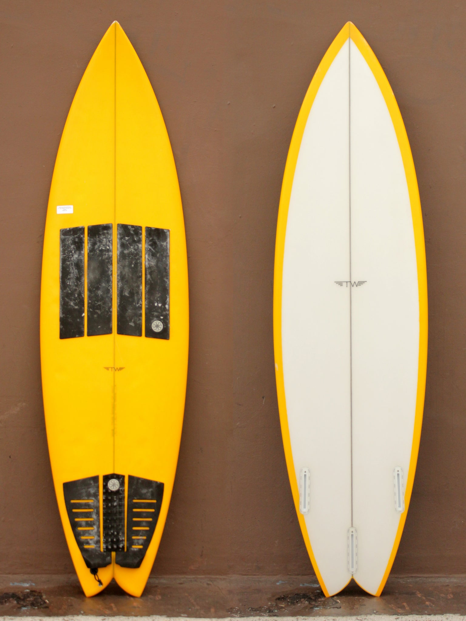 6'1 Tyler Warren Thruster Fish (Used)