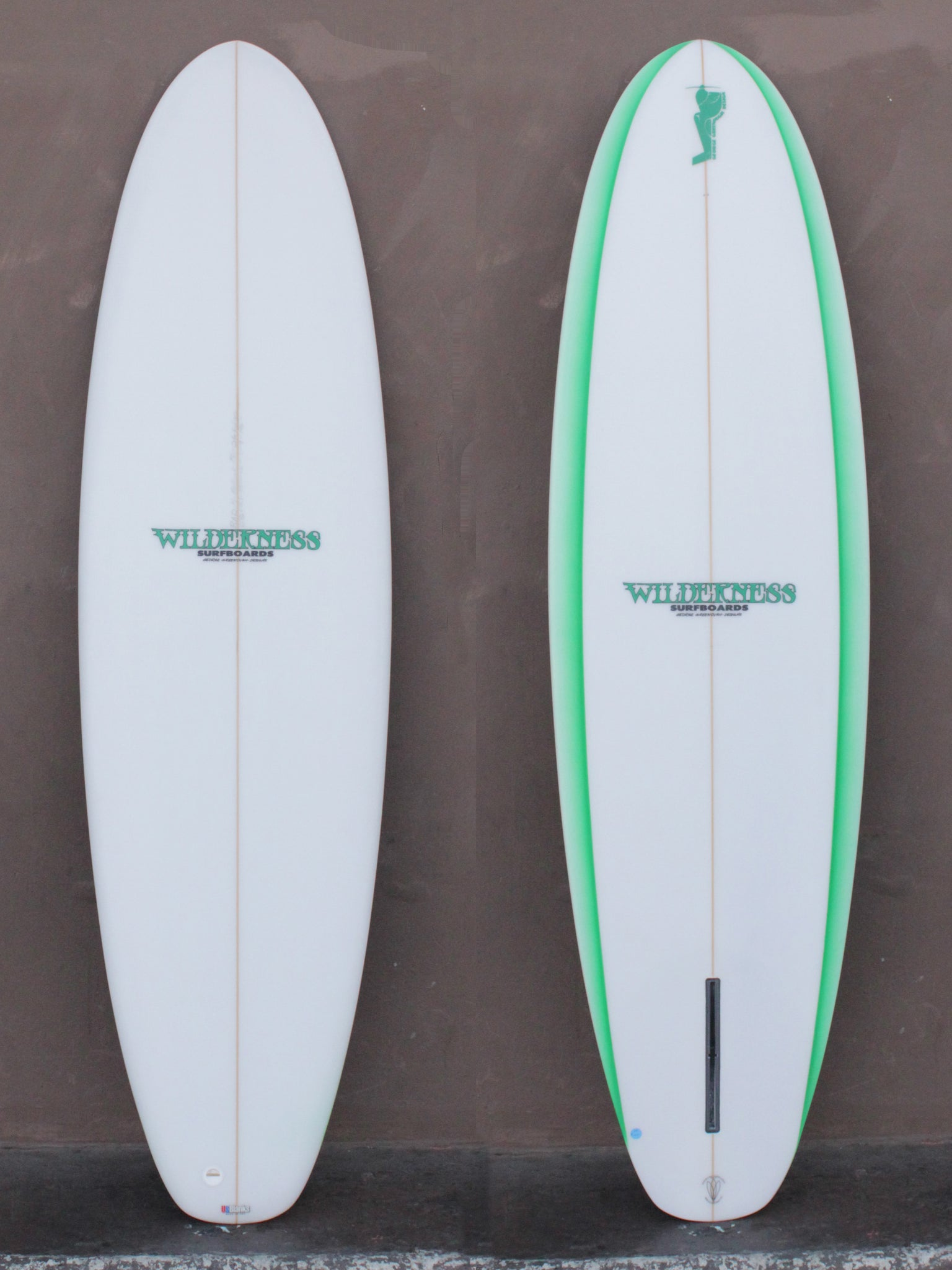 6'8 Wilderness OG Edge Stub