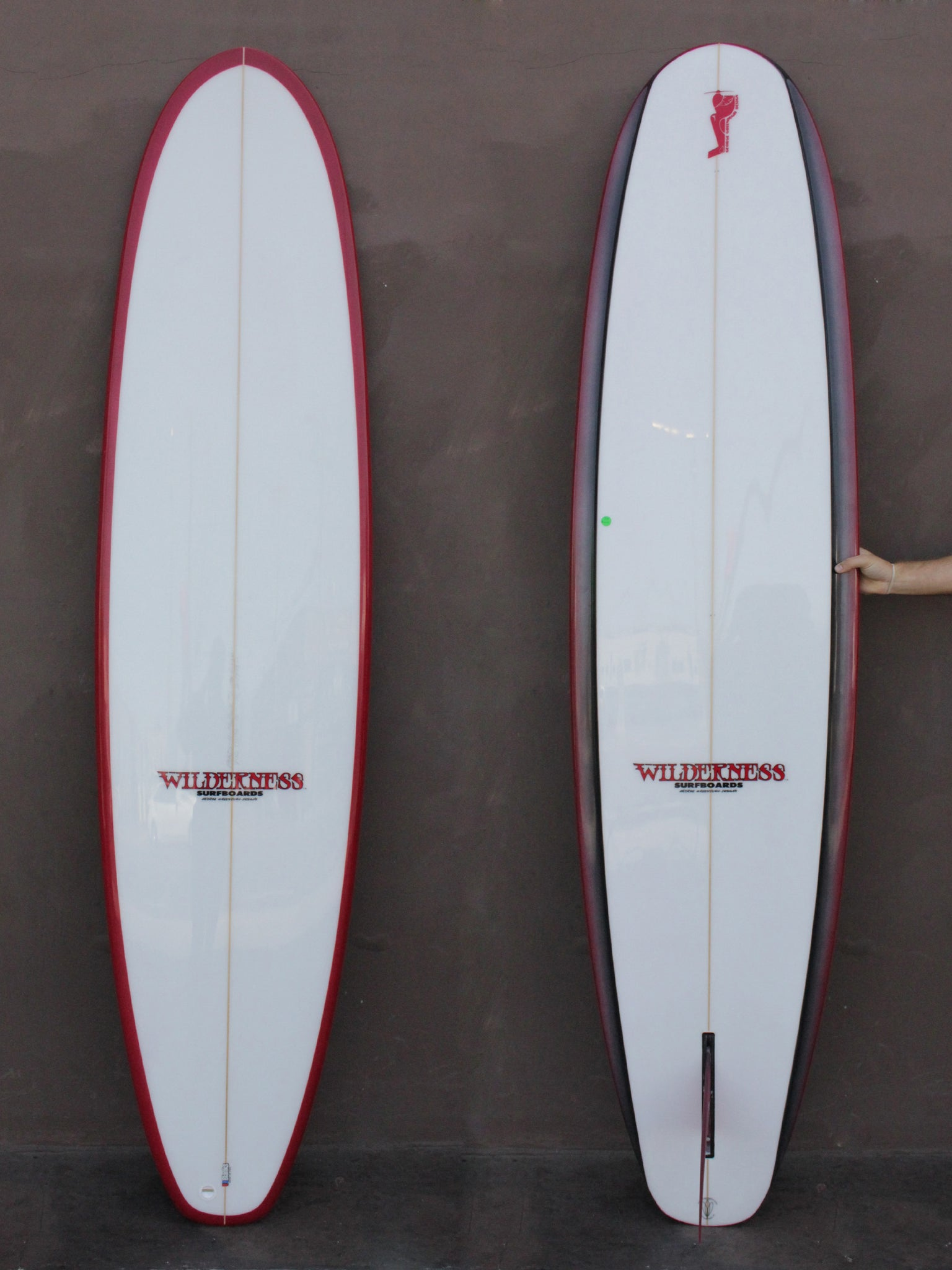 7'10 Wilderness Edge Short Longboard