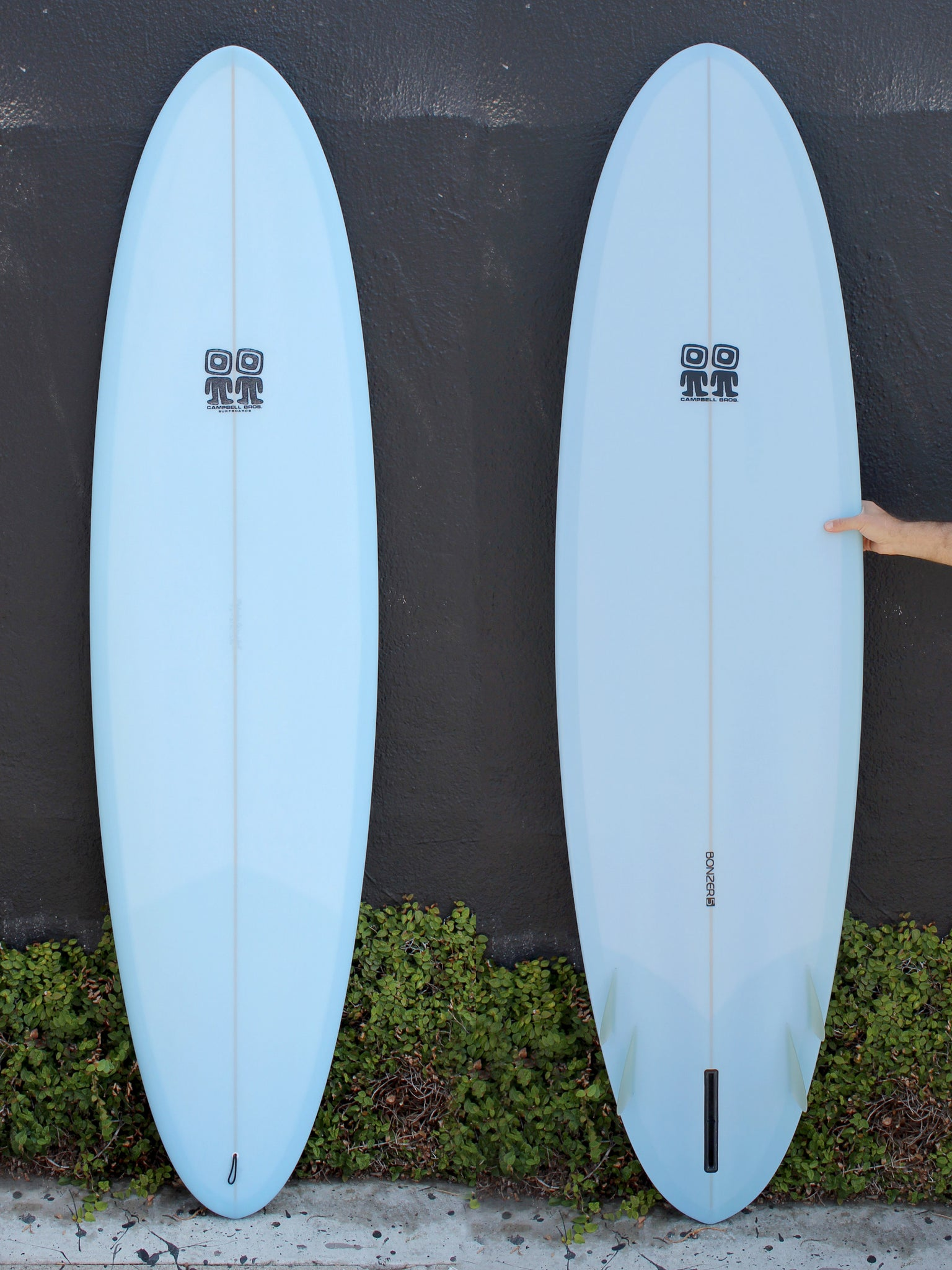 7'2 Campbell Brothers Bonzer Egg