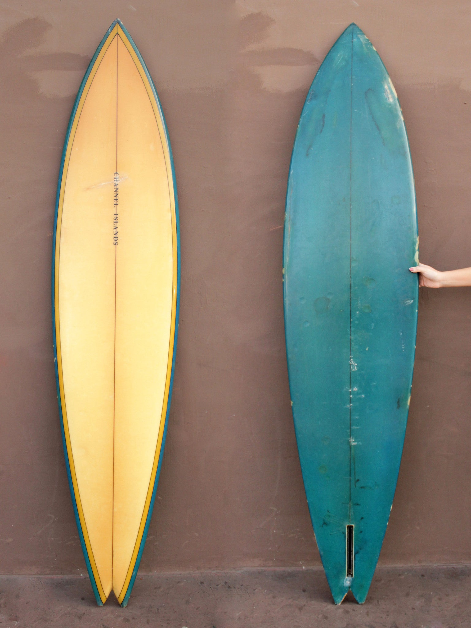 7'3 Channel Islands Single Fin (Used)