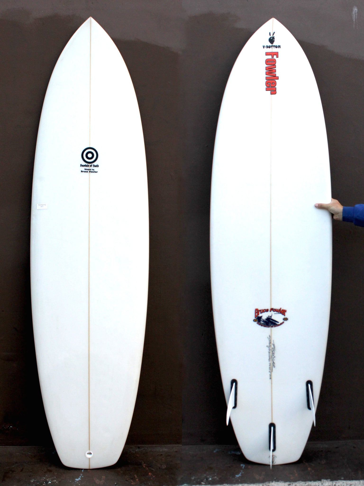 7'4 Fowler Fountain of Youth (Used)