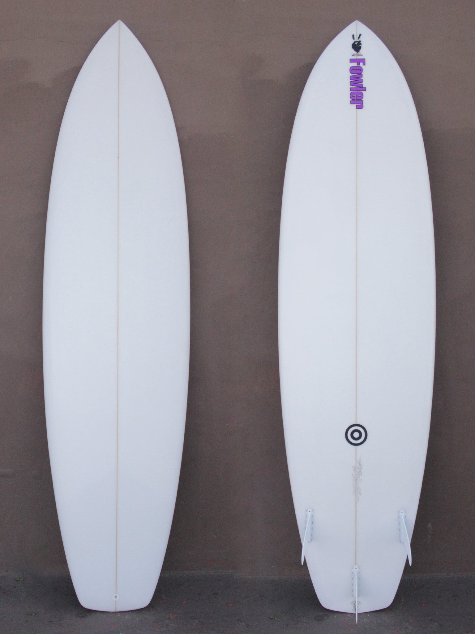 8'0 Fowler Plain Jane
