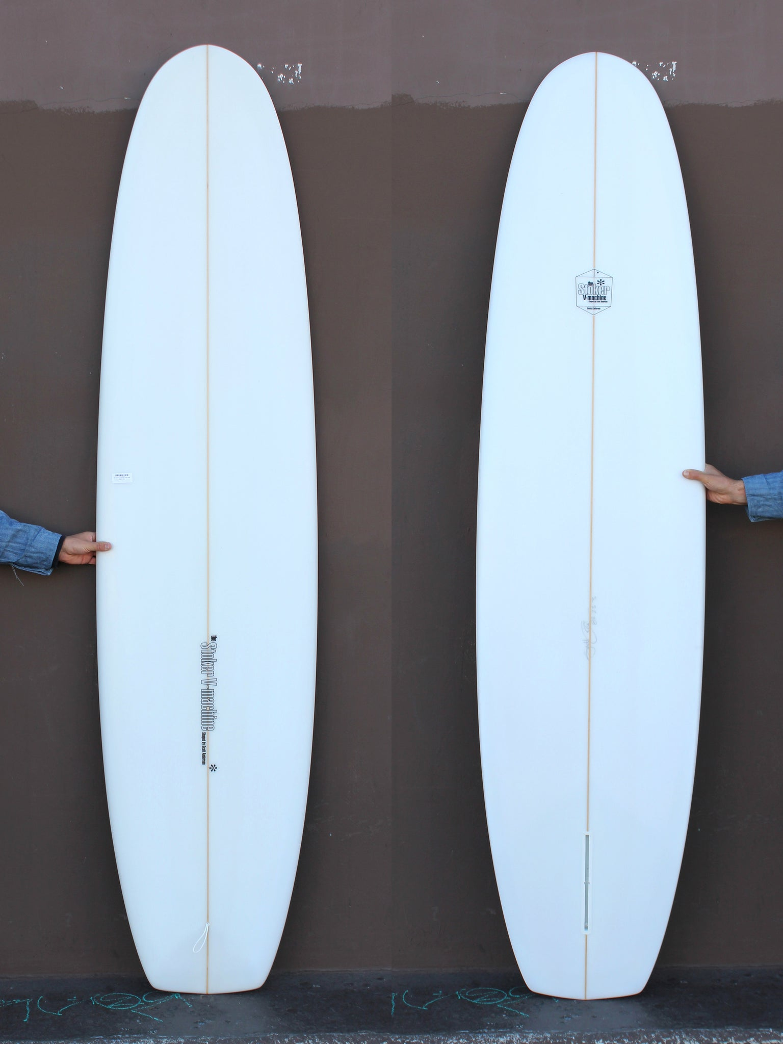 8'2 Anderson Stoker V-8 Clear