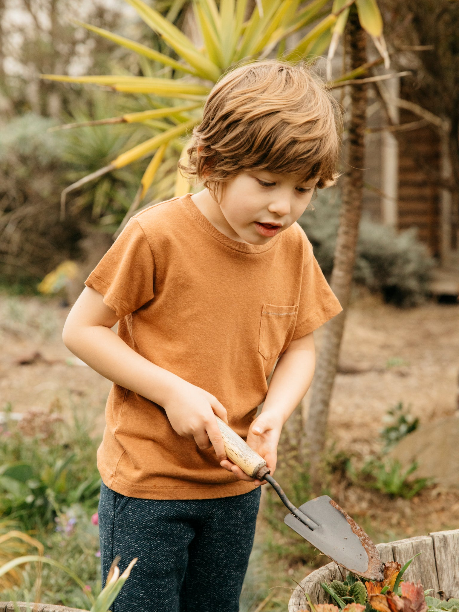 Kids Hemp Pocket Tee