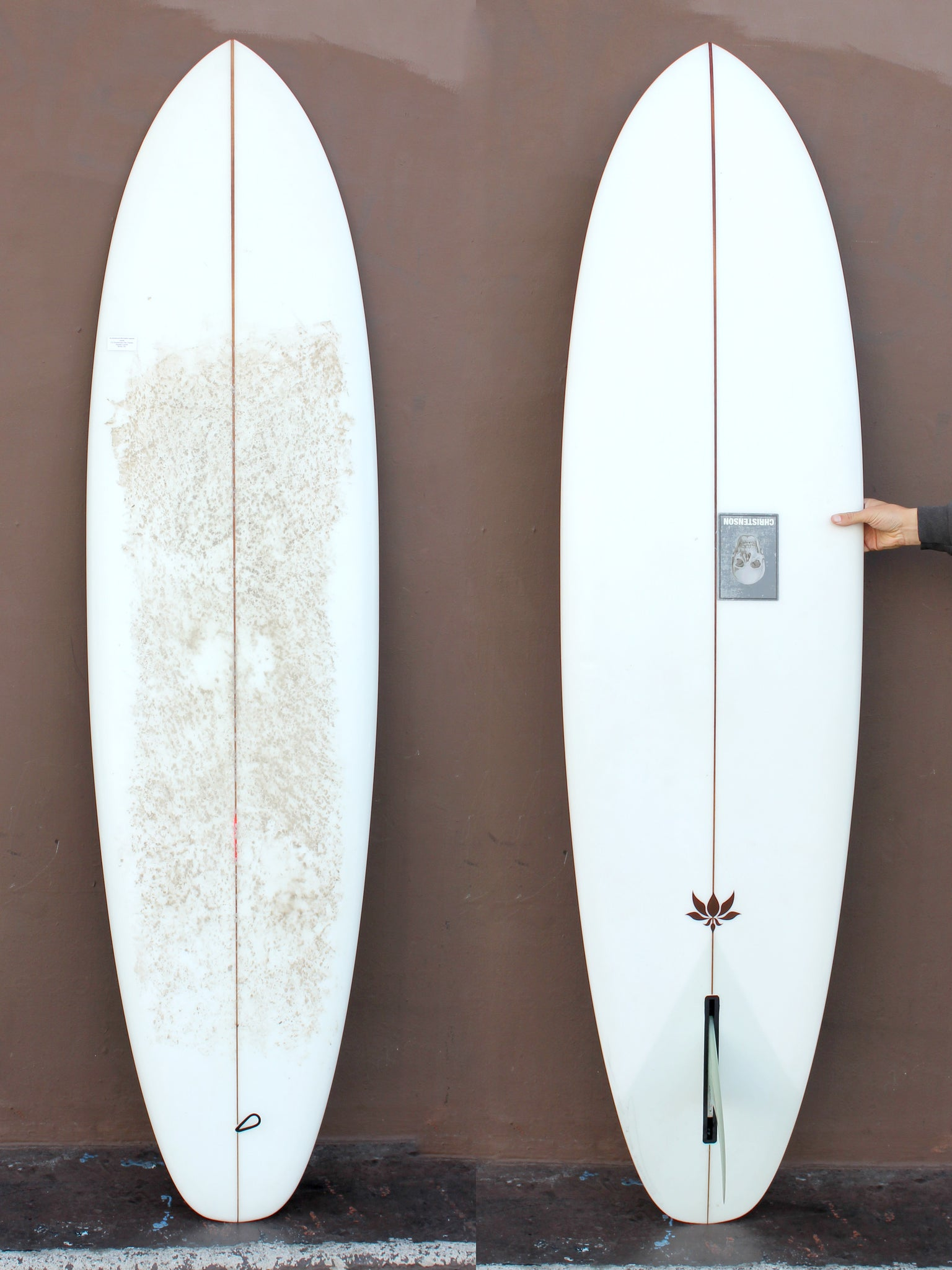 7'0 Christenson Flat Tracker (Used)