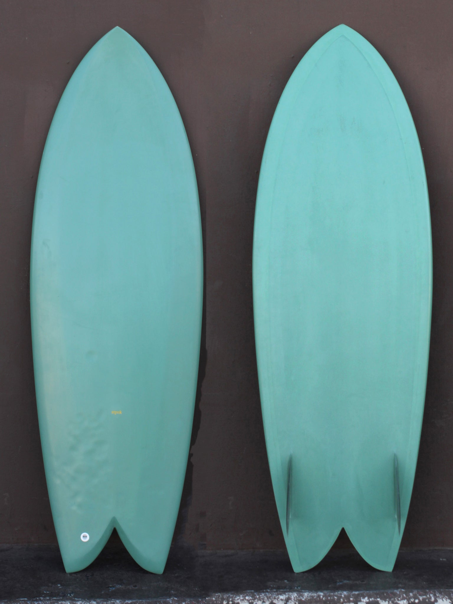 5'6 Stpnk Green Fish (Used)