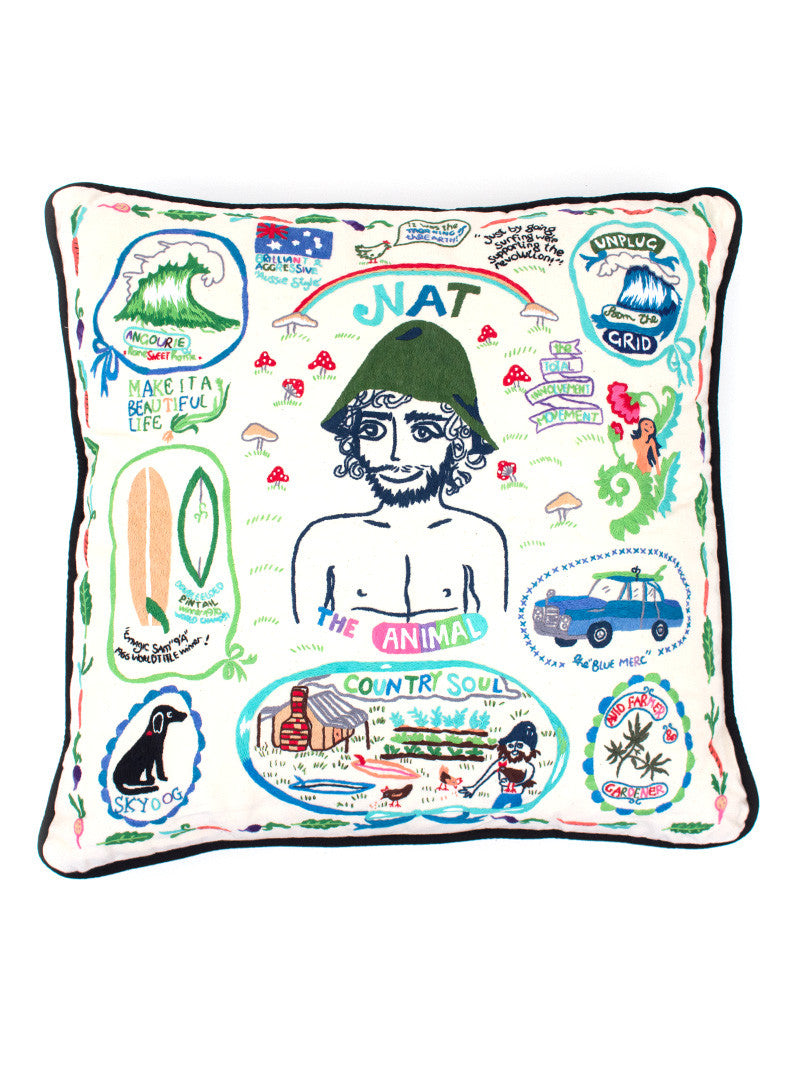 Aloha to Zen Pillow - Nat Young