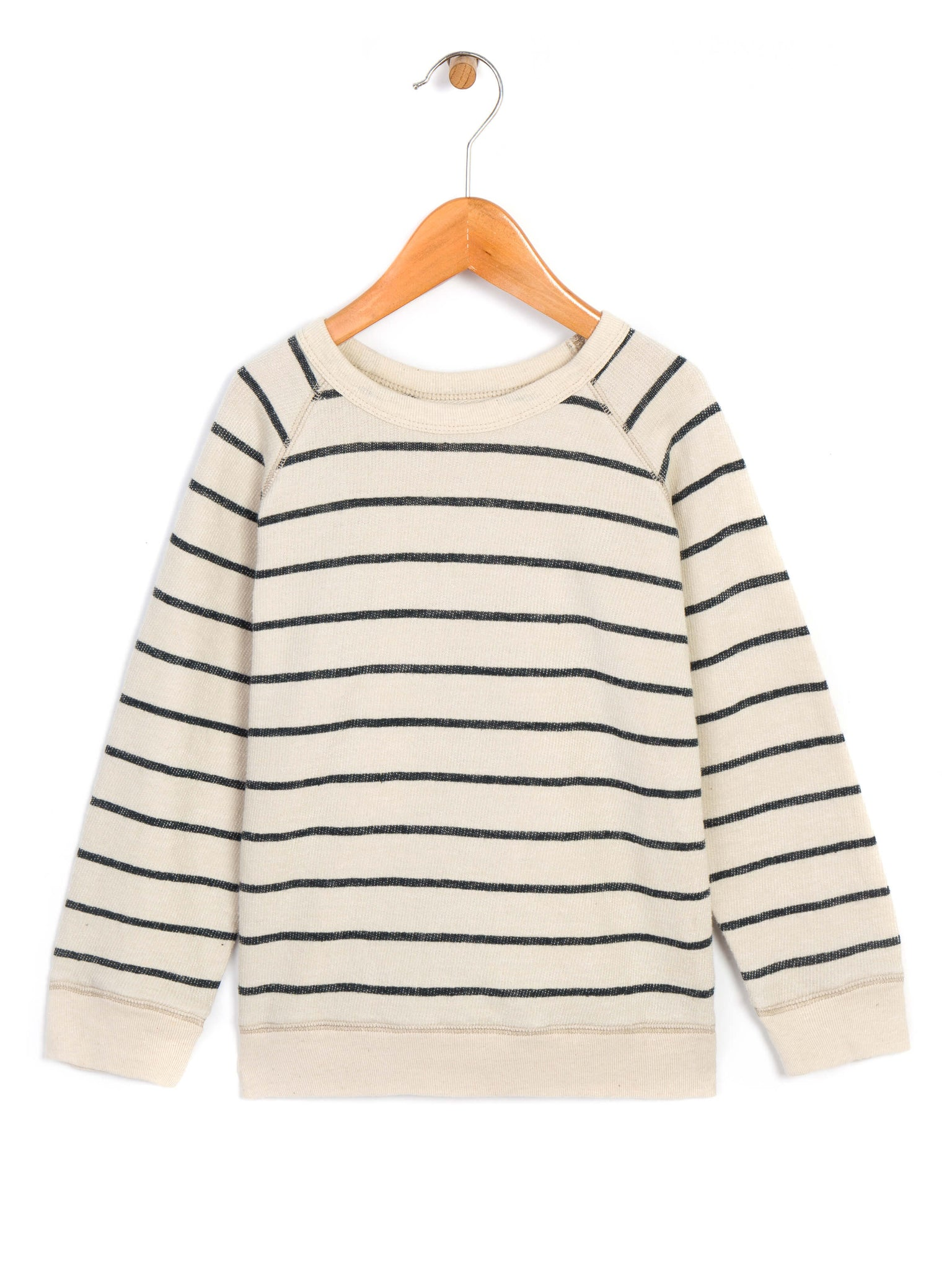 Kids Stripe Hemp Crew