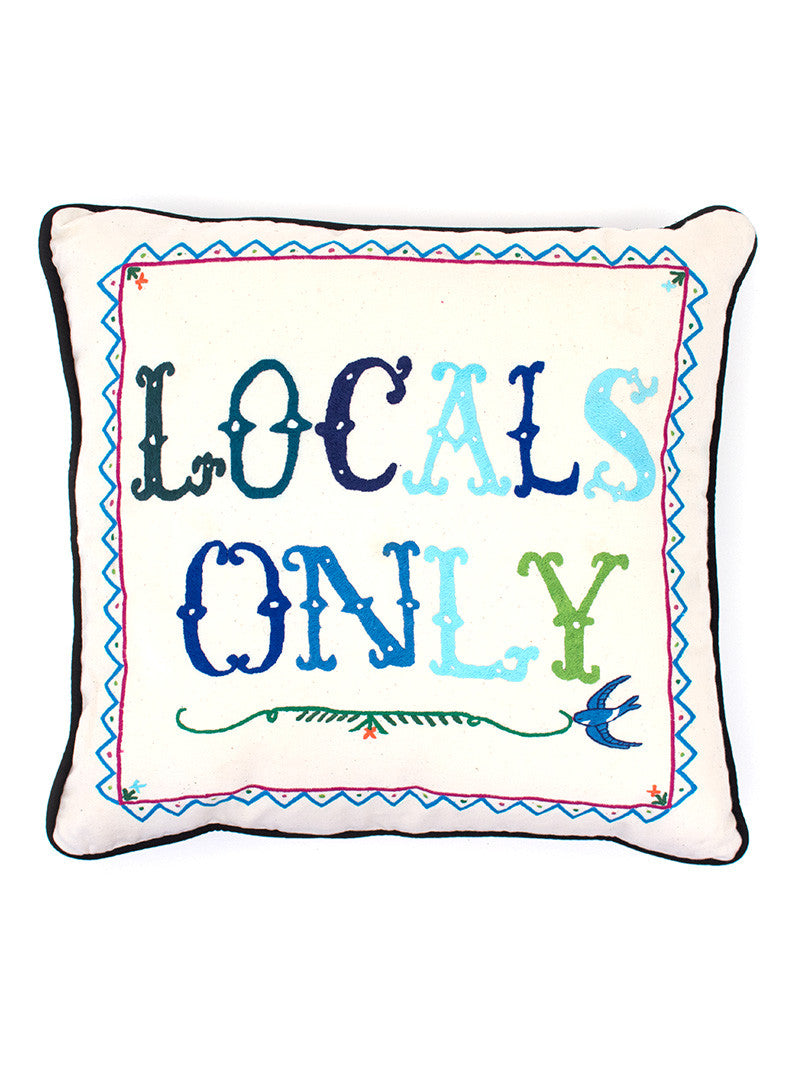 Aloha to Zen Pillow - Locals Only