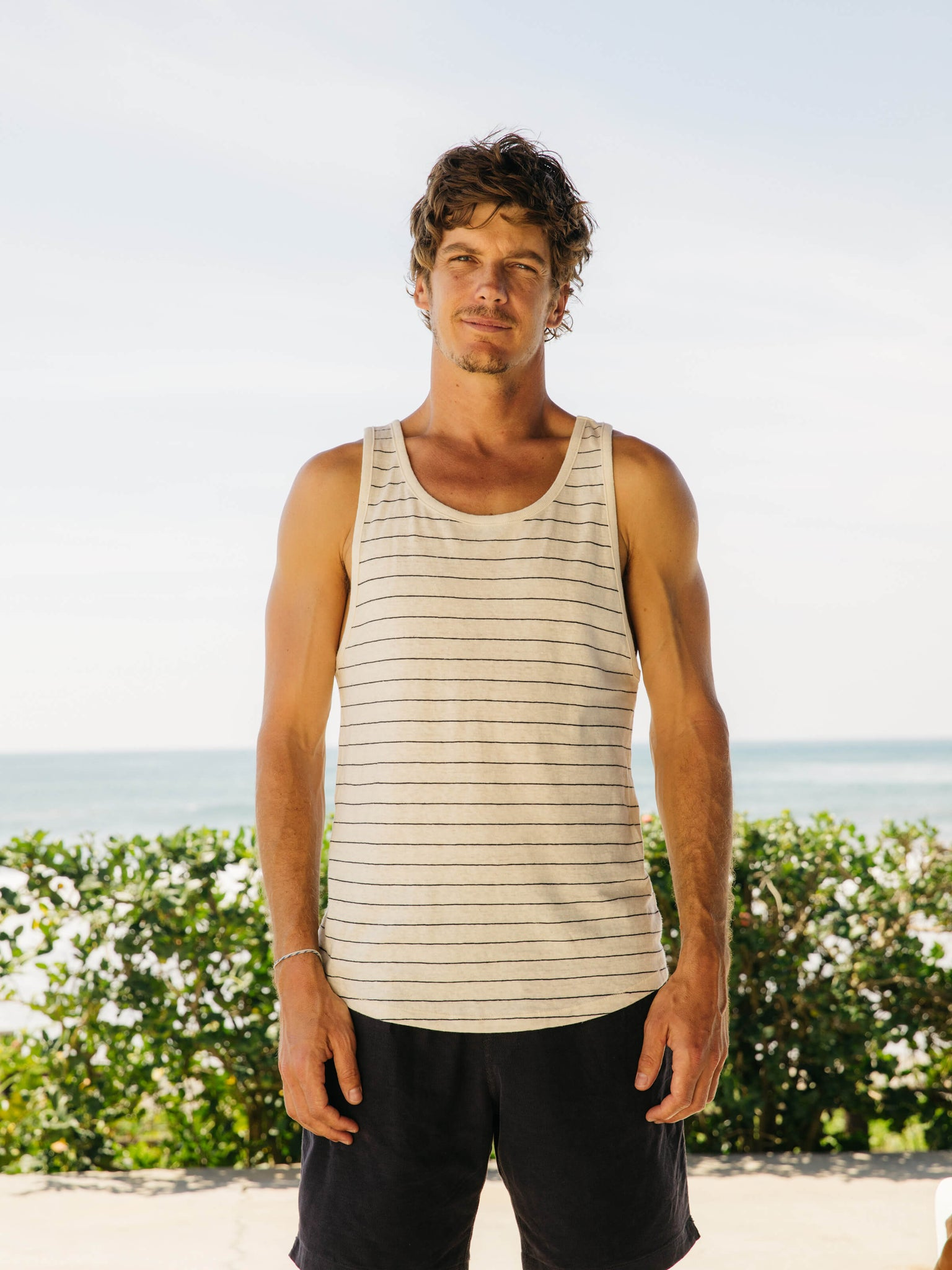 Hemp Stripe Tank