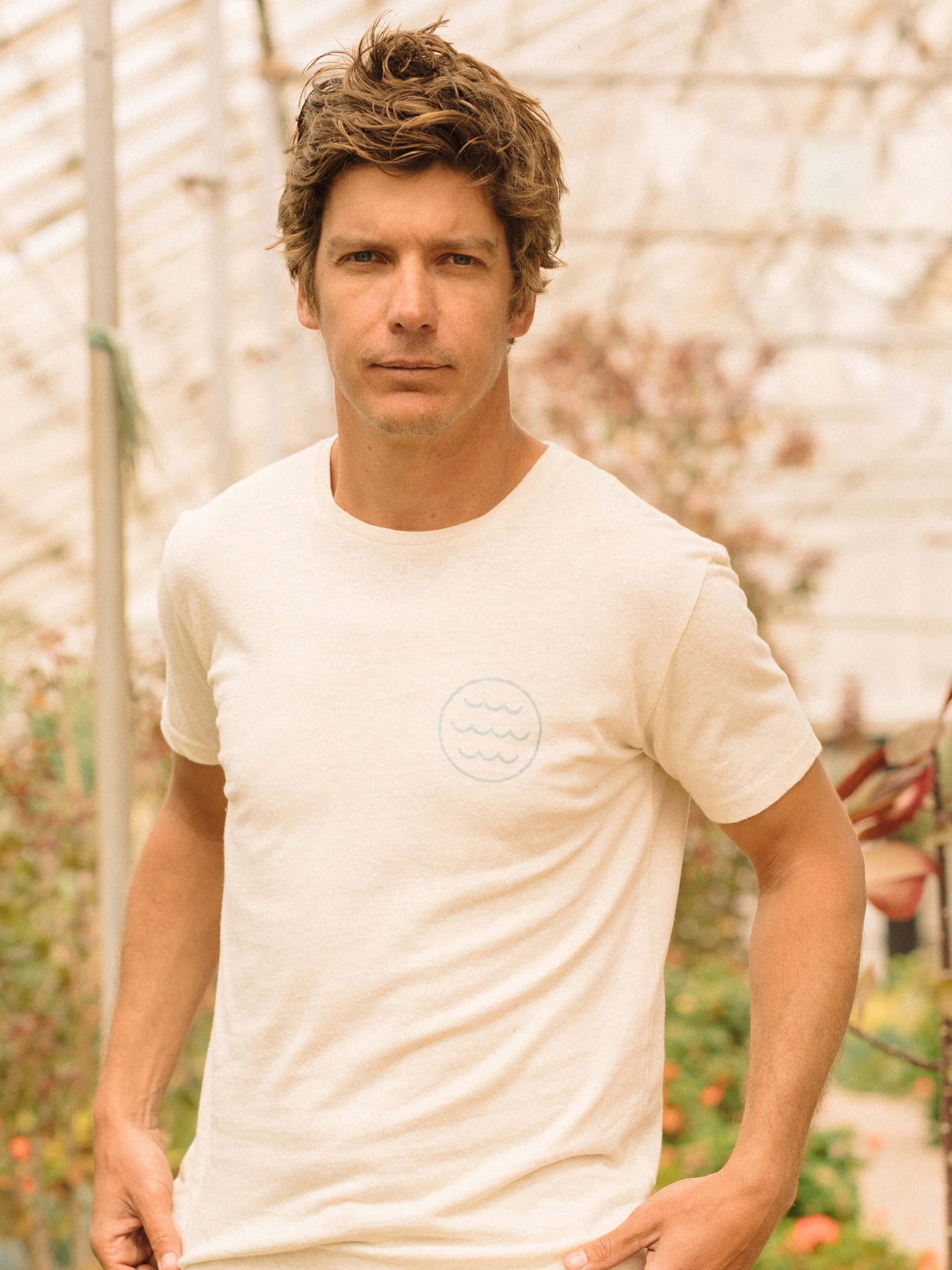 Hemp White Water Tee