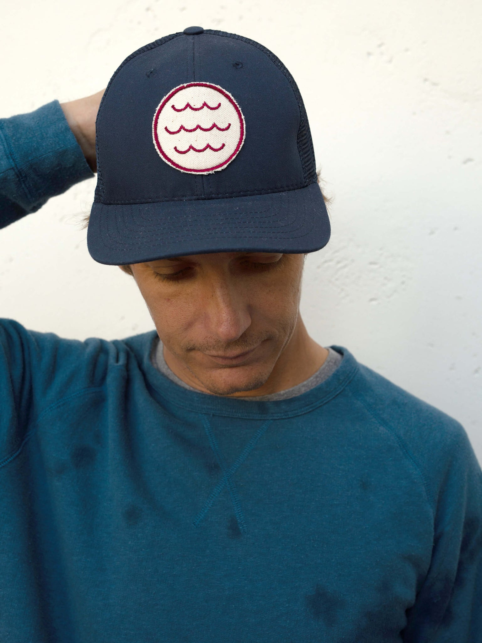Wave Patch Trucker Hat