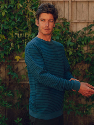 Yarn Stripe Crew