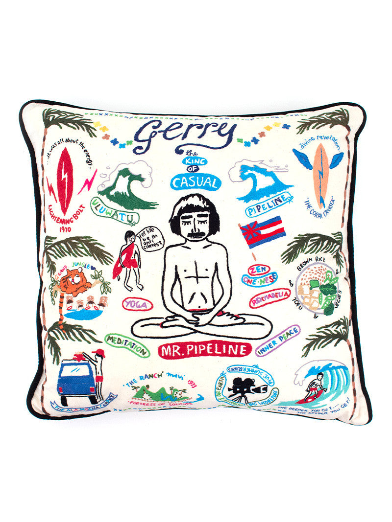 Aloha to Zen Pillow - Mr. Pipeline
