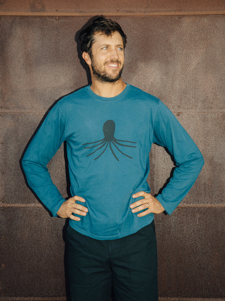 Octopus Long Sleeve Tee