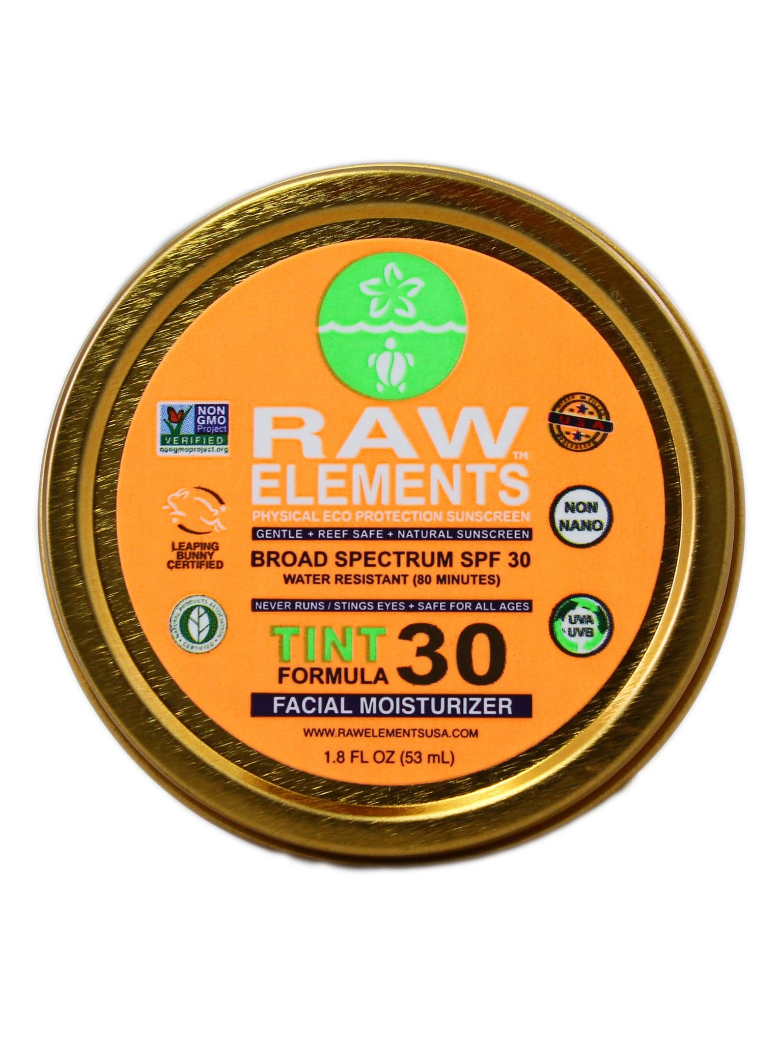 Raw Elements - Face Tint 30 Tin