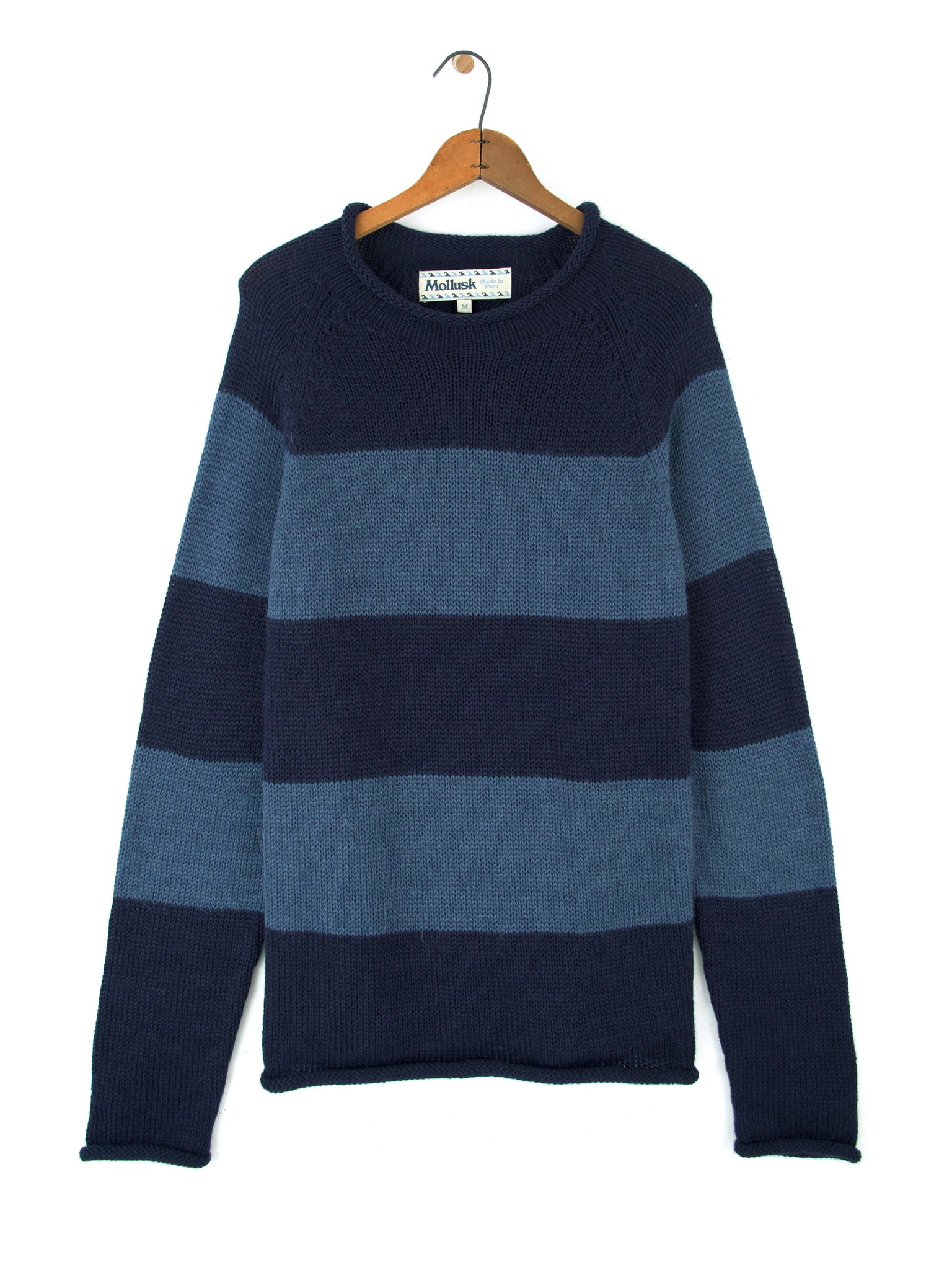 Stripe Fisherman Sweater