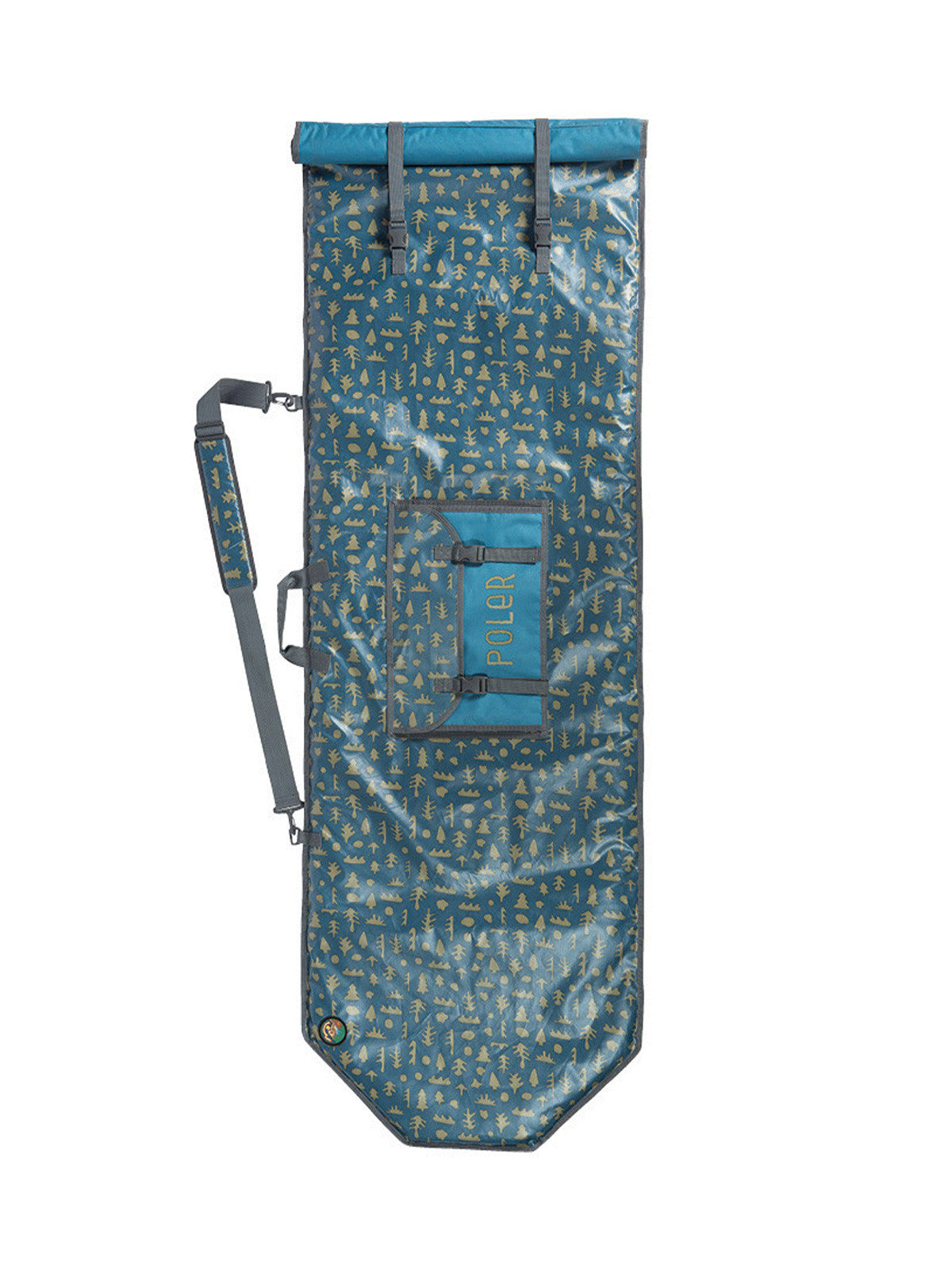 Poler Surfboard Bag - Mushy Trees