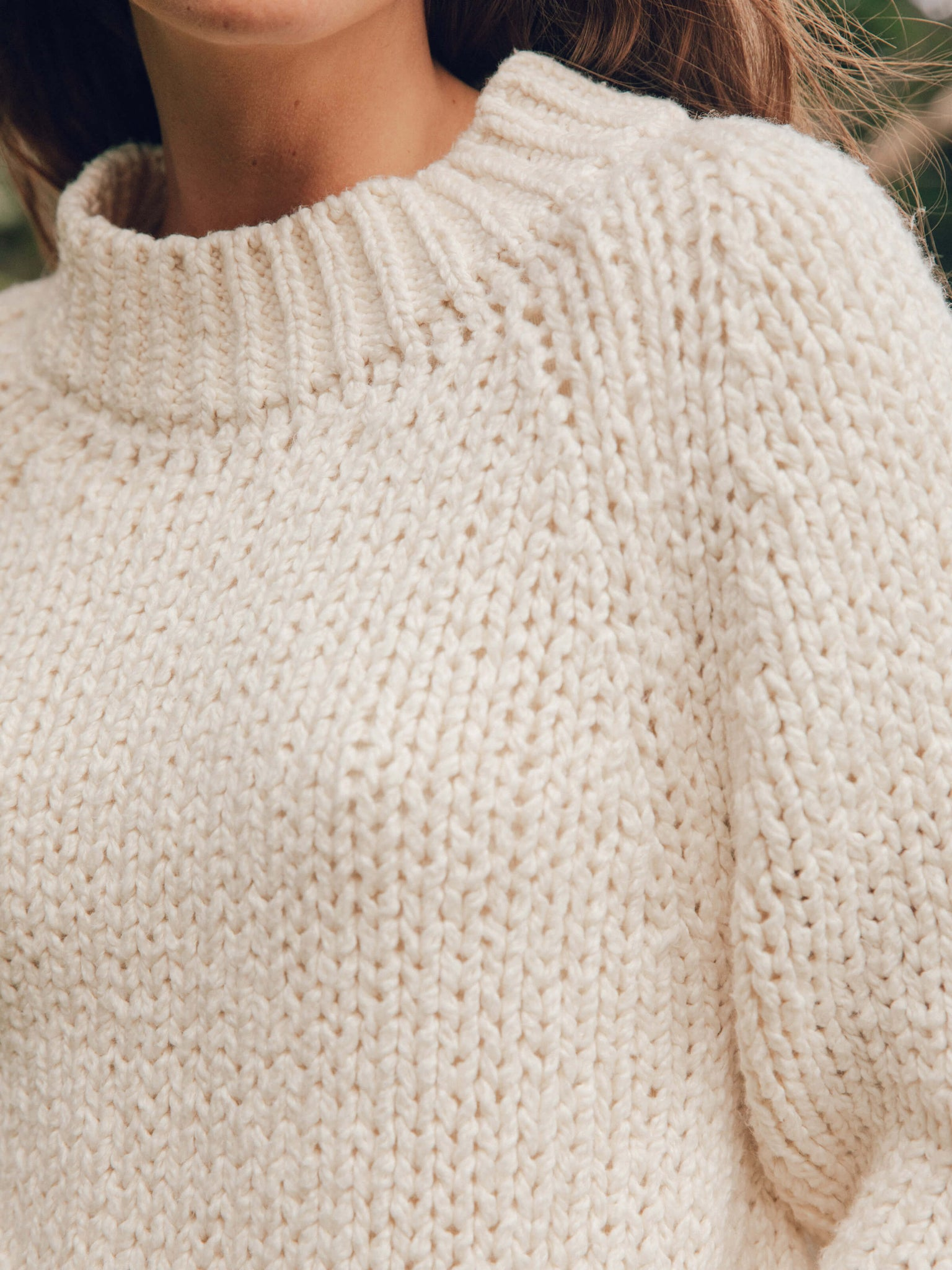 Cotton Teddy Sweater