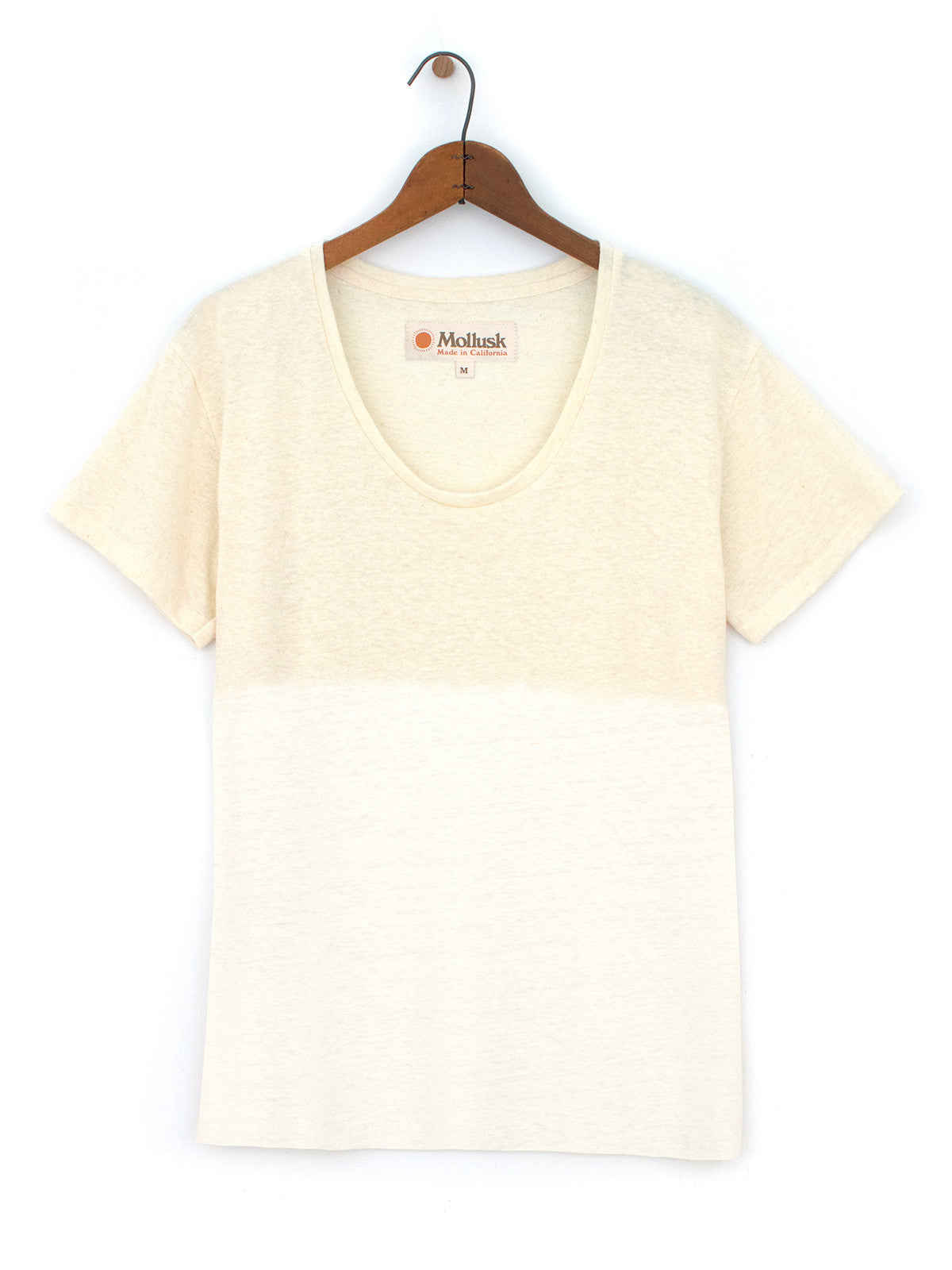Womens Dipped Hemp Tee