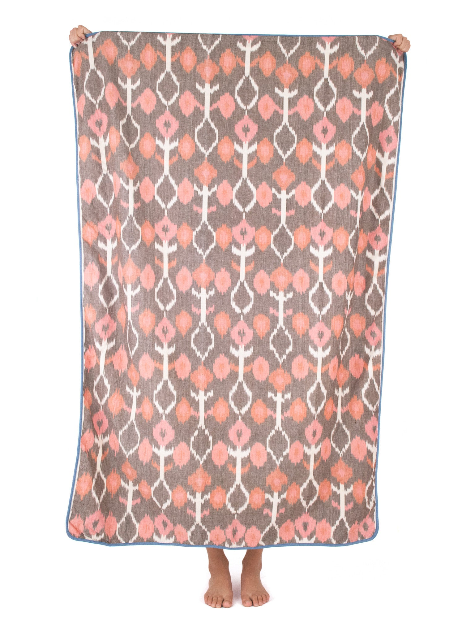 Ikat Beach Blanket