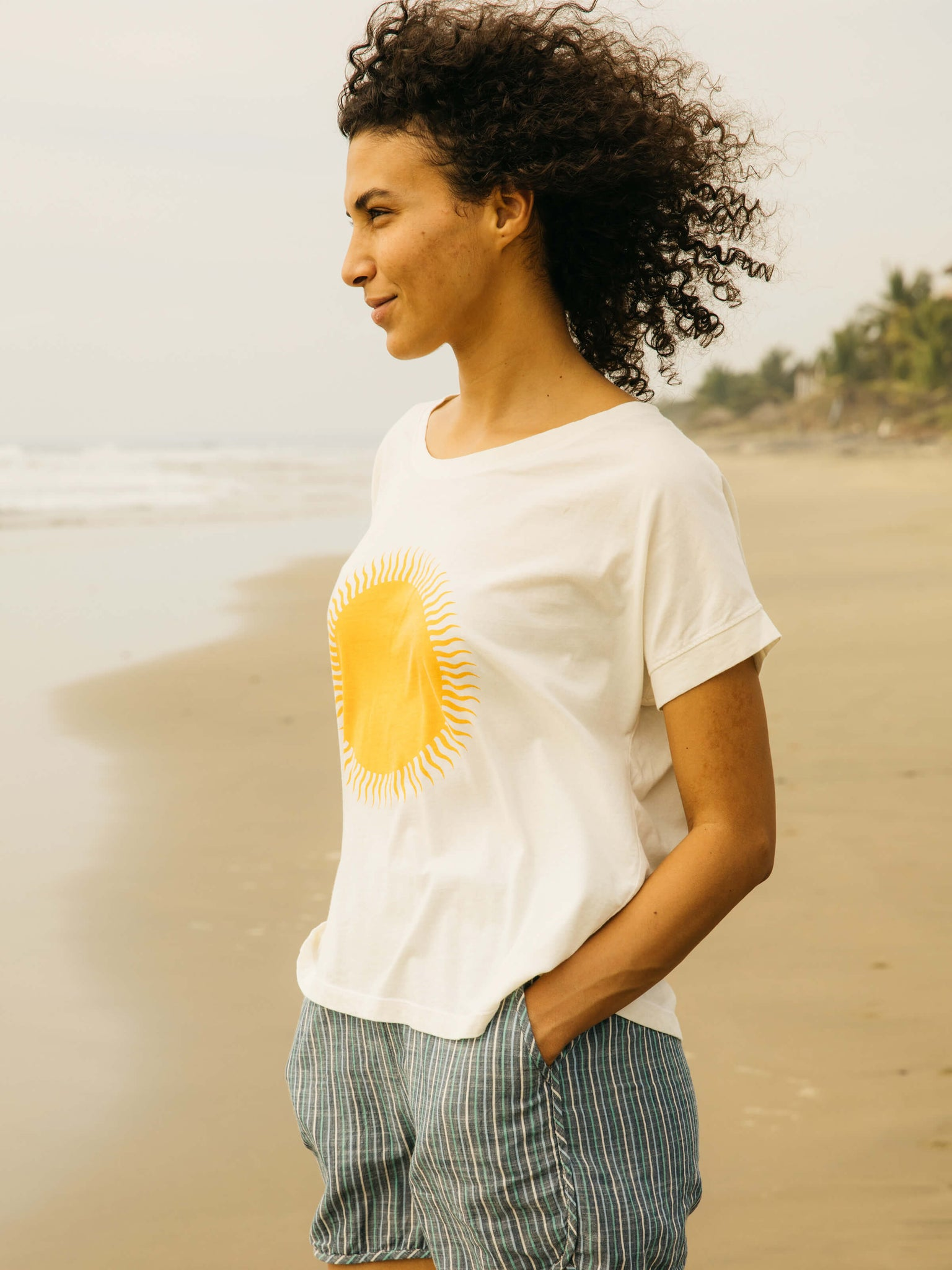Womens Country Sun Tee