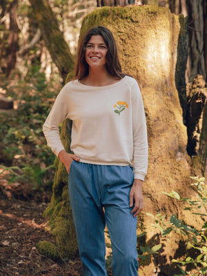 Womens Soft Harvest Crew
