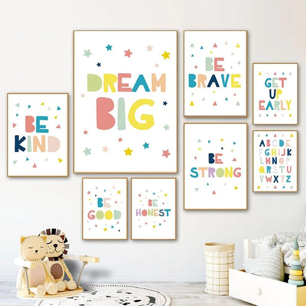 Inspiring Quotes Child Poster
