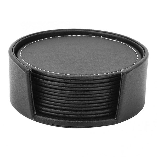Leather Round Shape Cup Insulation Pad