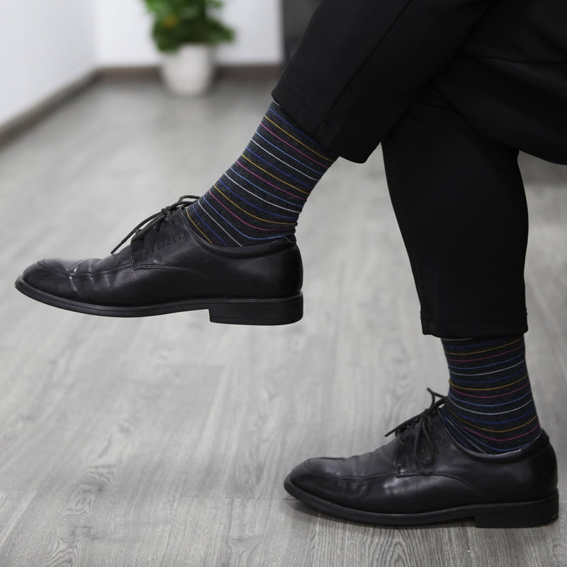 Business dress casual funny long socks