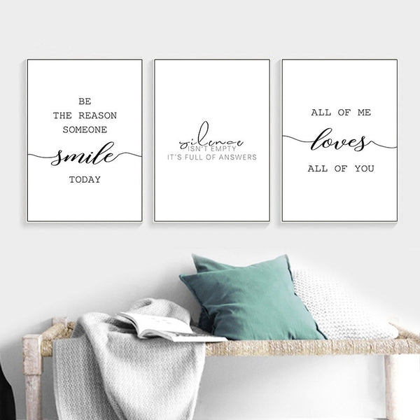 Canvas Posters Inspirational Pictures