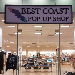 Whimsy's stockist Best Coast Pop Up Shop