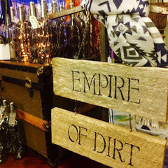 Whimsy's stockist Empire of Dirt