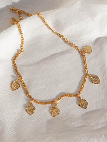 """Star Love"" Gold Necklace"
