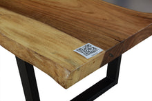 Load image into Gallery viewer, Live Edge Clear Epoxy Resin Table