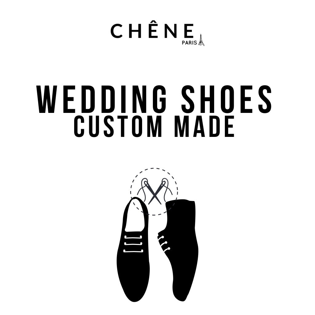 WEDDING SHOES CUSTOM MADE FOR MEN