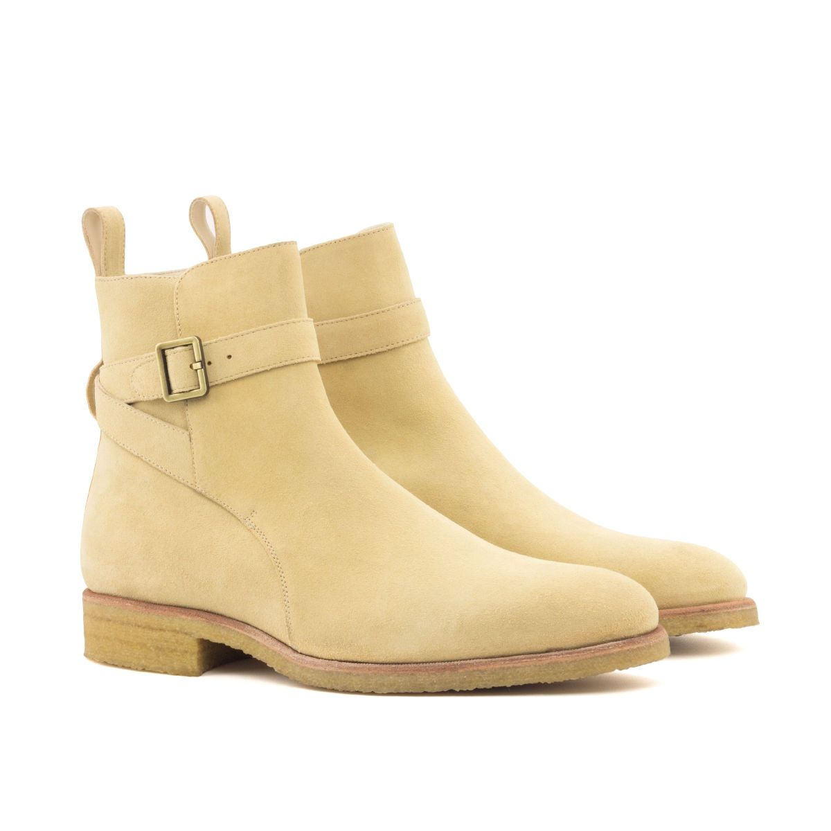 L'Eiffel suede Jodhpur buckle boot with crepe sole