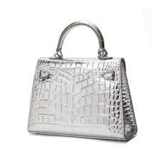 Load image into Gallery viewer, Alligator Embossed Mini Satchel/ Crossbody Bag