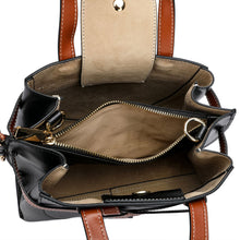 Load image into Gallery viewer, Full-grain Smooth Napa Leather Satchel/ Shoulder Bag