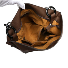 Load image into Gallery viewer, Leather Messenger Tote