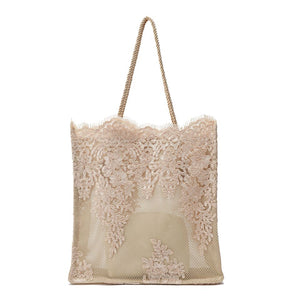 Lace Tote Bag