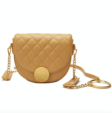 Load image into Gallery viewer, Quilted Lambskin Shoulder/ Messenger/ Crossbody Bag