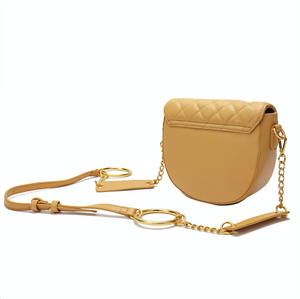 Quilted Lambskin Shoulder/ Messenger/ Crossbody Bag