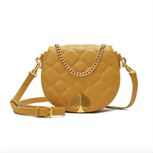 Load image into Gallery viewer, Quilted Lambskin Flap Shoulder/ Crossbody Bag