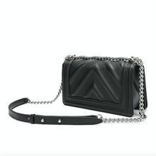 Load image into Gallery viewer, Full-grain Quilted Lambskin Flap Shoulder Bag