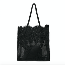 Load image into Gallery viewer, Lace Tote Bag