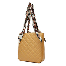Load image into Gallery viewer, Quilted Lambskin Shoulder Bag