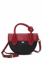 Load image into Gallery viewer, Twisted Handle Flap Crossbody